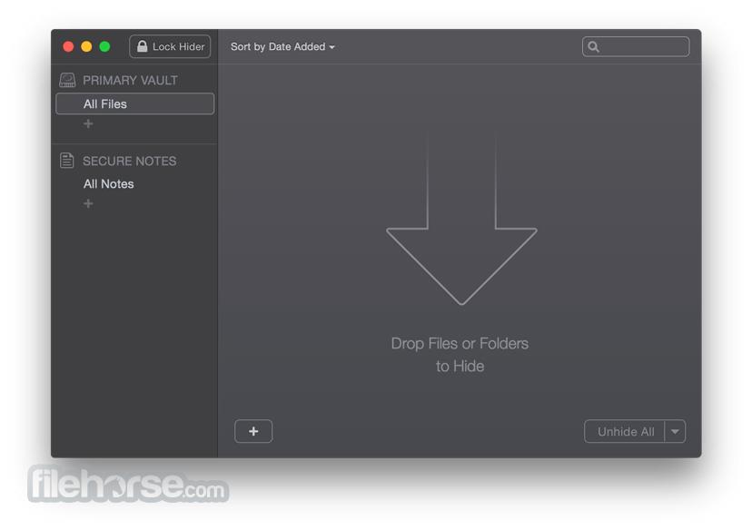 Hider 2.4.9 Screenshot 2