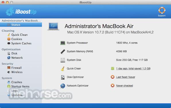 iBoostUp 5.9.8 Screenshot 1