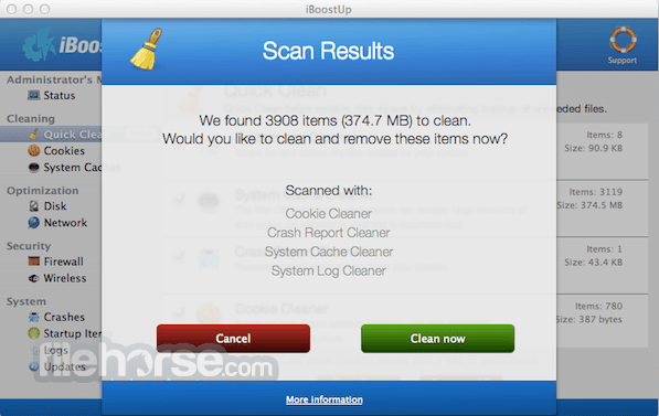 iBoostUp 5.9.8 Screenshot 2