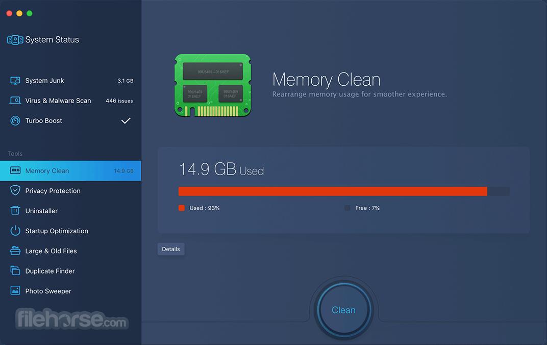 MacBooster 5.0.4 Screenshot 3