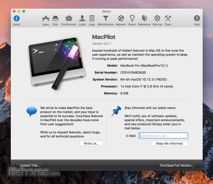 MacPilot 10.0 Screenshot 2