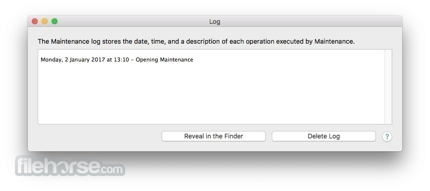 Maintenance 2.3.7 Screenshot 3