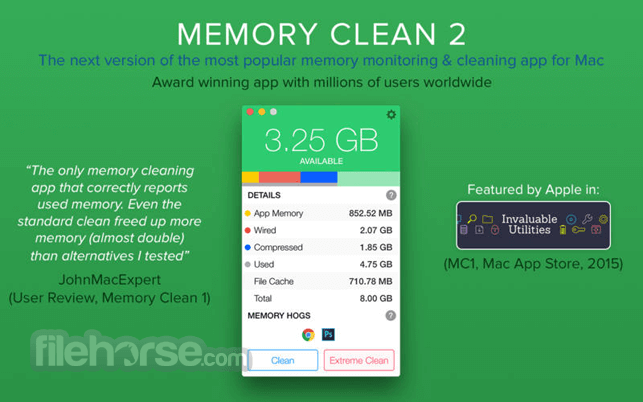 Memory Clean 3 1.0.6 Screenshot 1