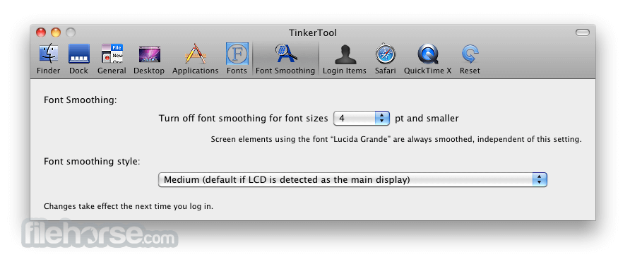 TinkerTool 5.61 Screenshot 5