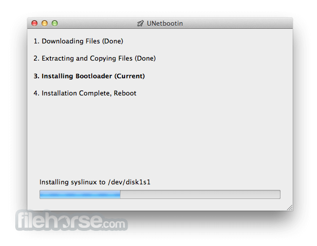 UNetbootin 6.47 Screenshot 3
