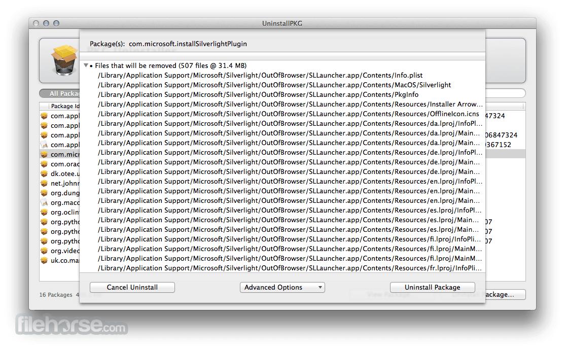 UninstallPKG 1.1.9 Screenshot 3