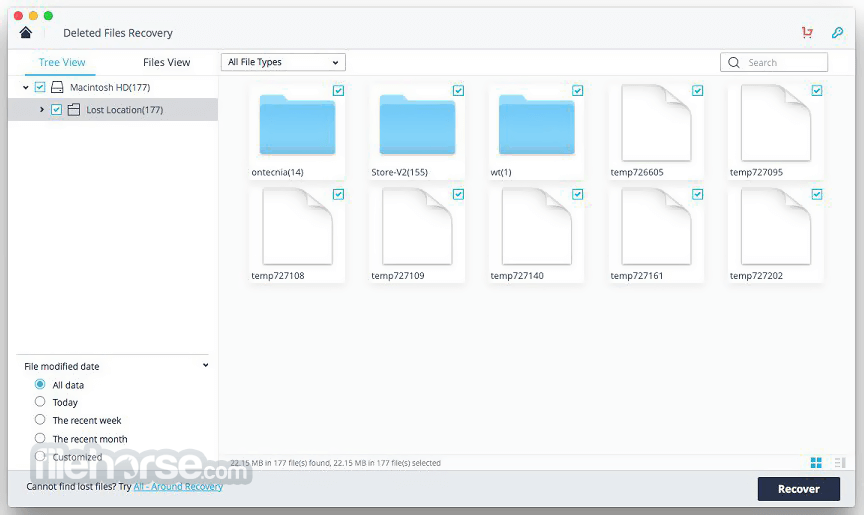Wondershare Recoverit 8.2.0 Captura de Pantalla 3