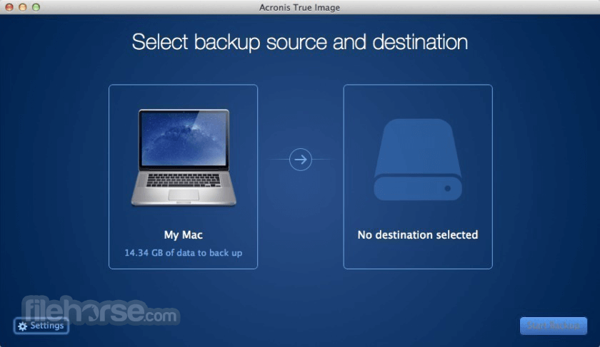 Acronis True Image 2021 Screenshot 1
