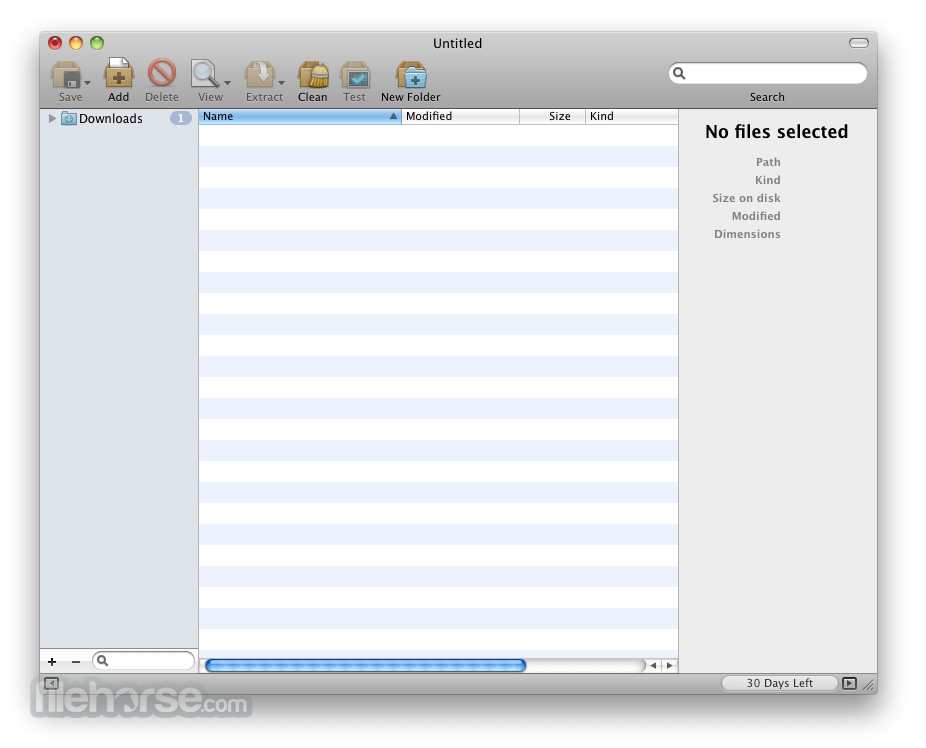 BetterZip 4.2.5 Screenshot 1