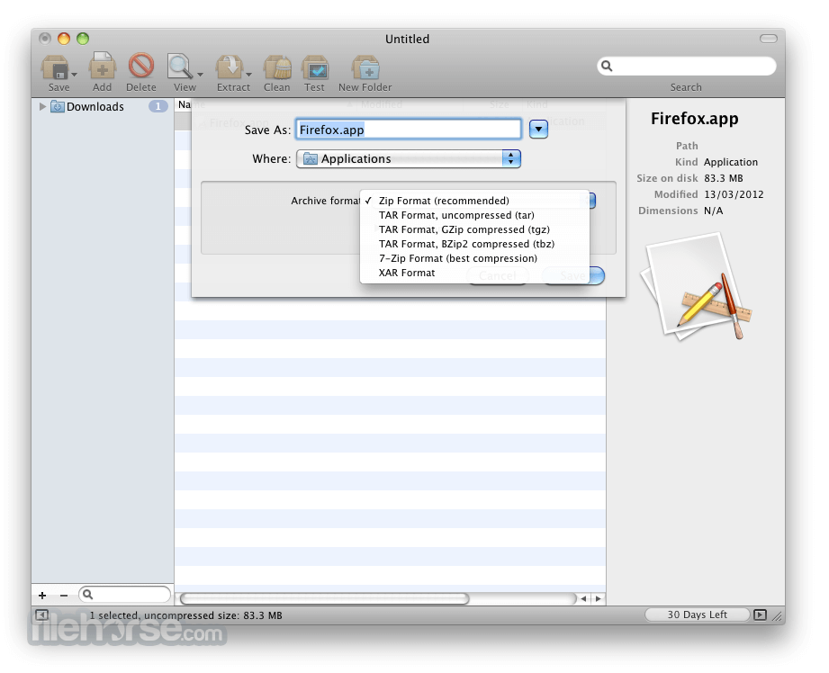 BetterZip 5.0 Captura de Pantalla 5