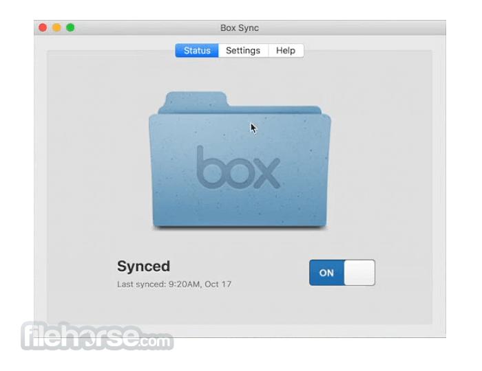 Box Sync 4.0.8009 Screenshot 1