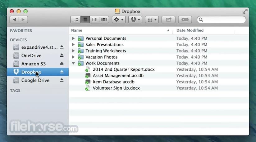 ExpanDrive 7.7.6 Screenshot 1