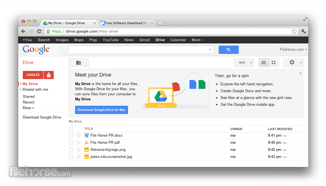 Google Drive 3.49.9800.0000 Screenshot 2