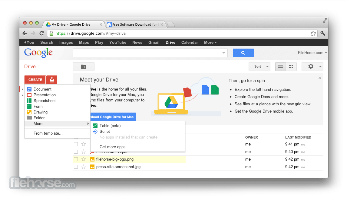 Google Drive 3.49.9800.0000 Screenshot 3