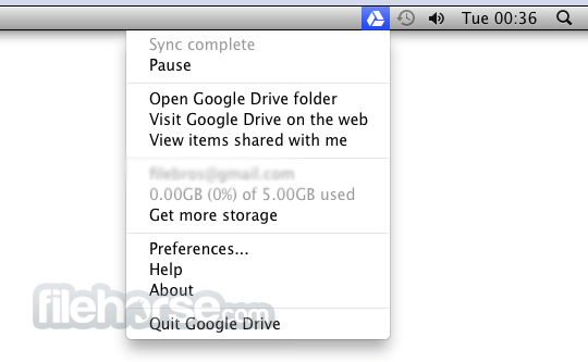 Google Drive 3.49.9800.0000 Screenshot 4