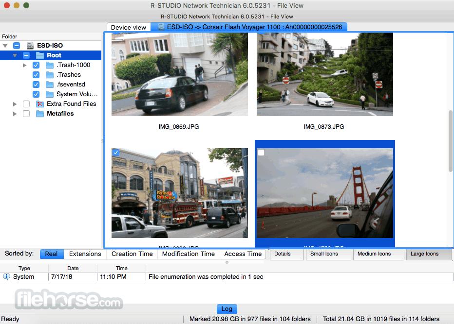 R-Studio 6.7 build 6026 Captura de Pantalla 1