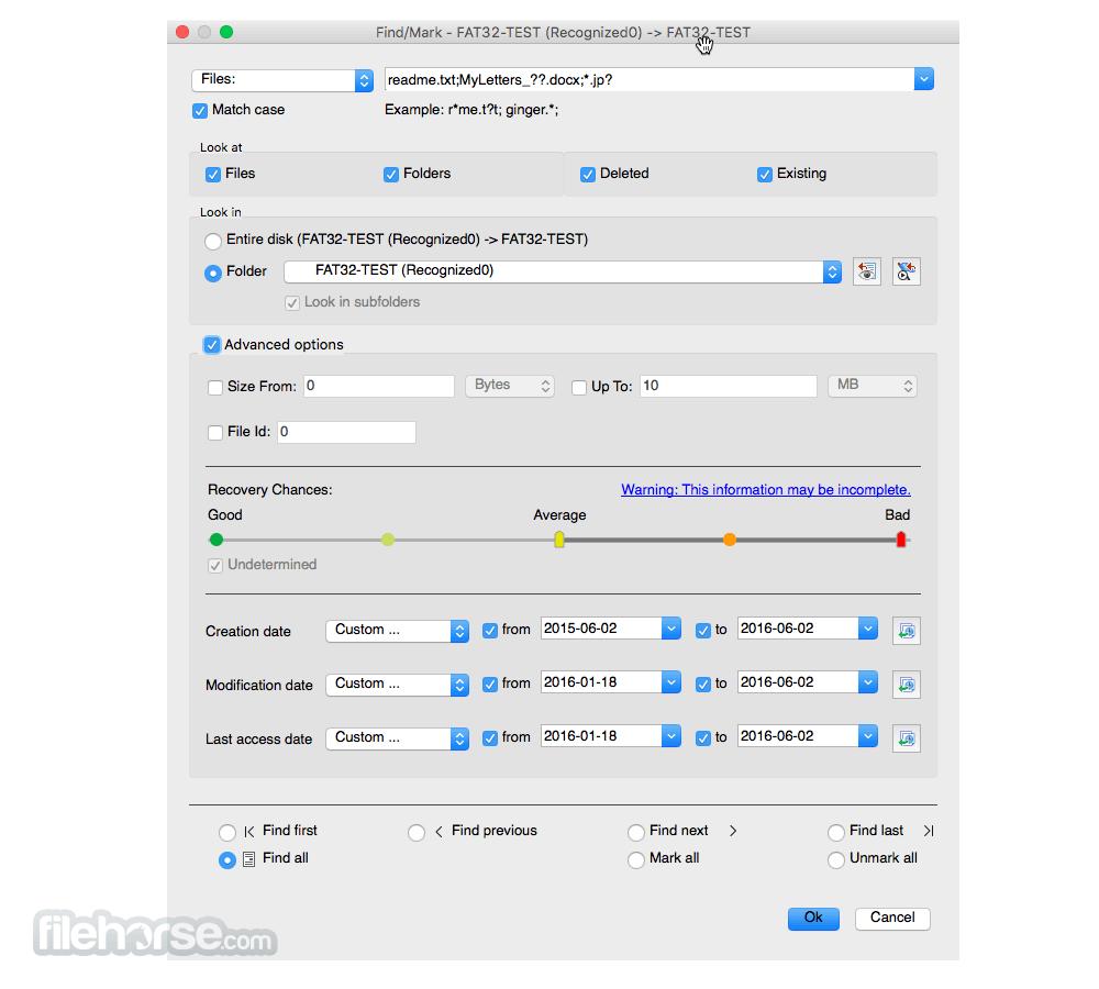 R-Studio 6.7 build 6026 Captura de Pantalla 4