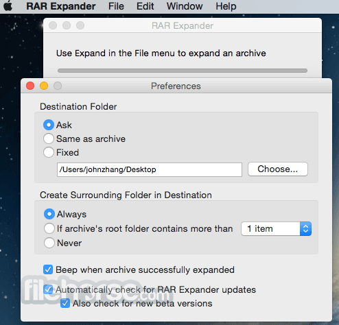 RAR Expander for Mac - Download Free (2019 Latest Version)