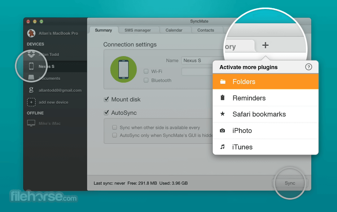 SyncMate 7.2.407 Screenshot 4