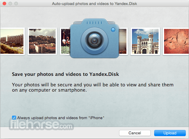 Yandex.Disk 1.4.21 Screenshot 4