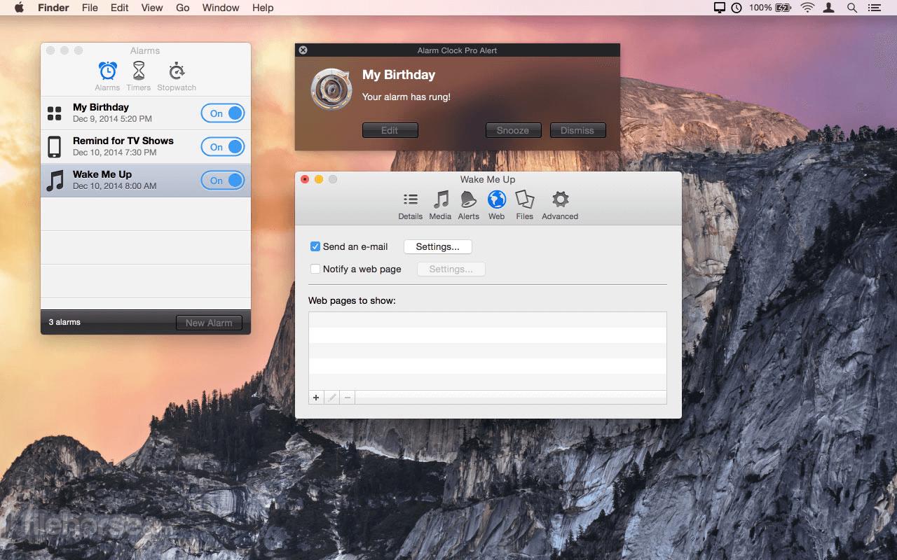 Alarm Clock Pro 11.0.5 Screenshot 5