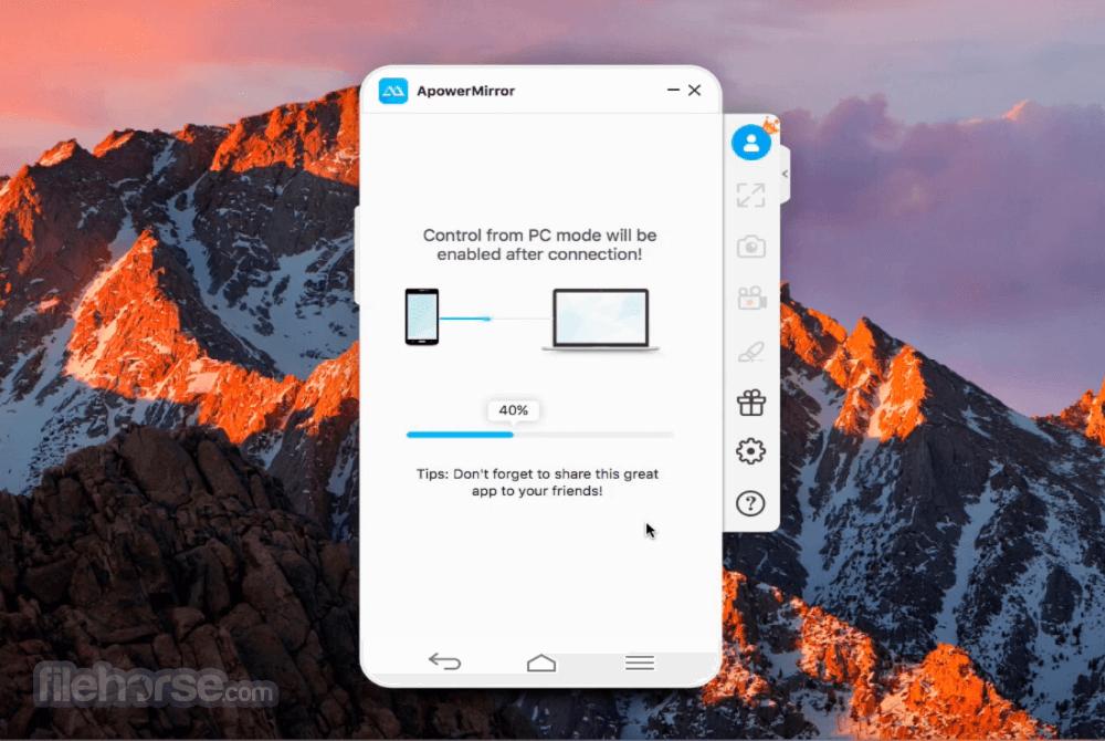 ApowerMirror 1.3.0 Screenshot 4