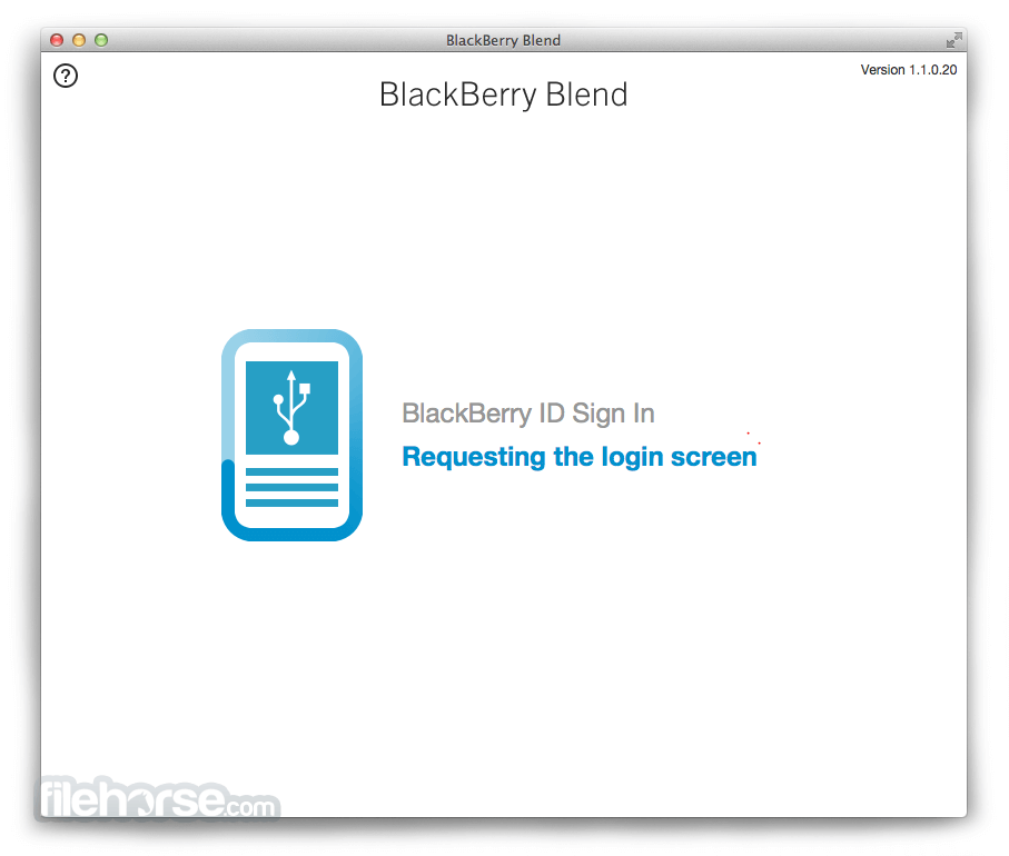 BlackBerry Blend 1.2.0.58 Screenshot 2