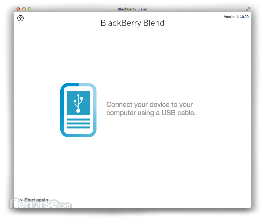 BlackBerry Blend 1.2.0.58 Screenshot 4