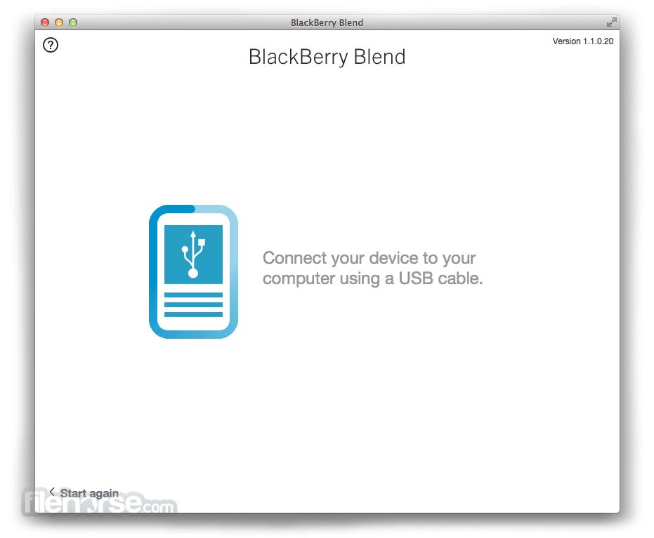 BlackBerry Blend 1.1.0.20 Screenshot 4