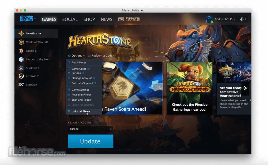 Blizzard Battle.net Desktop Screenshot 3