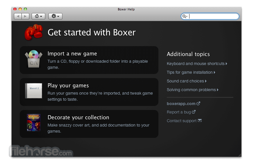 Boxer 1.4.0 Screenshot 3