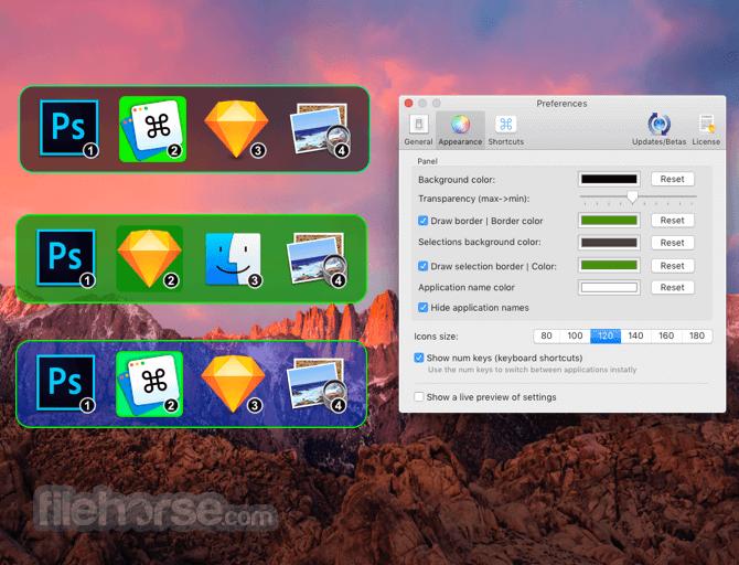 Command-Tab Plus 1.124 Screenshot 4