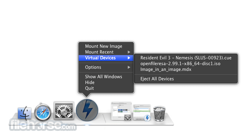 DAEMON Tools 5.3.303 Captura de Pantalla 3