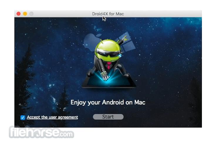 Droid4X 0.8.3 Screenshot 1