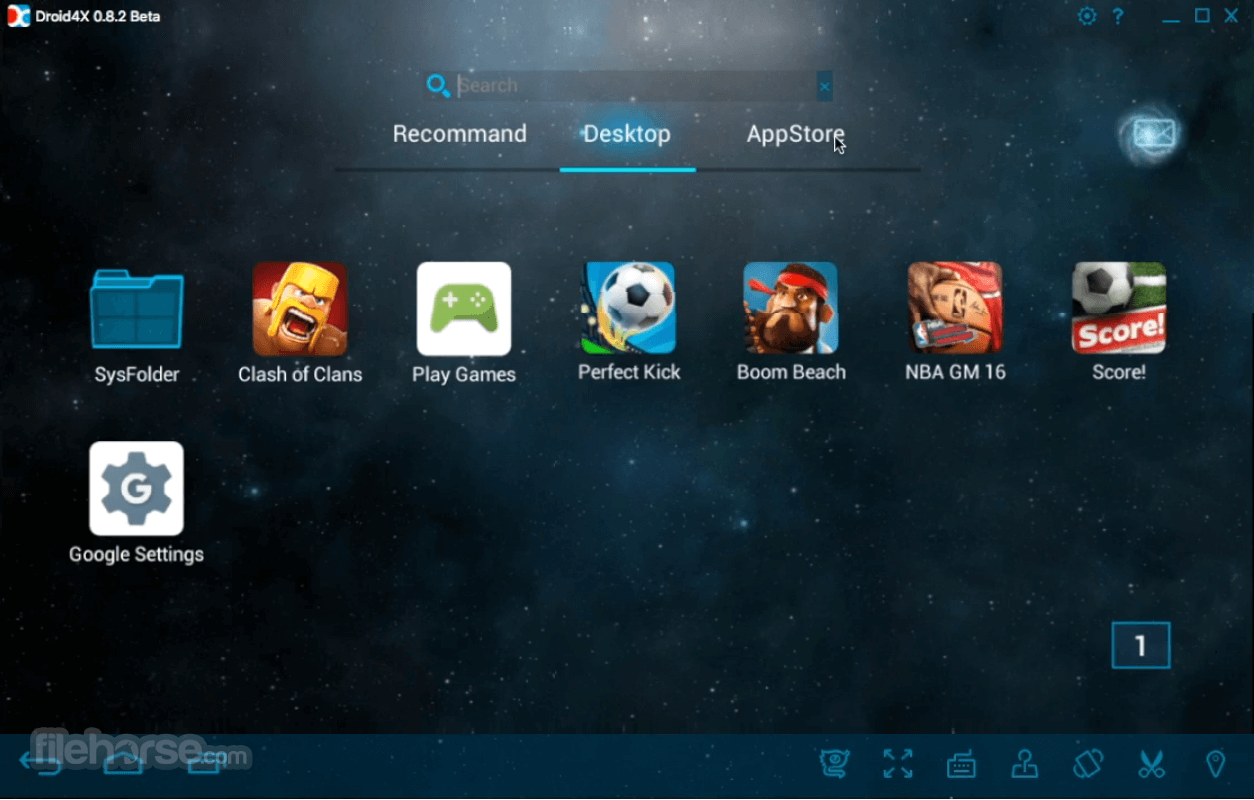 Droid4X 0.8.3 Screenshot 2
