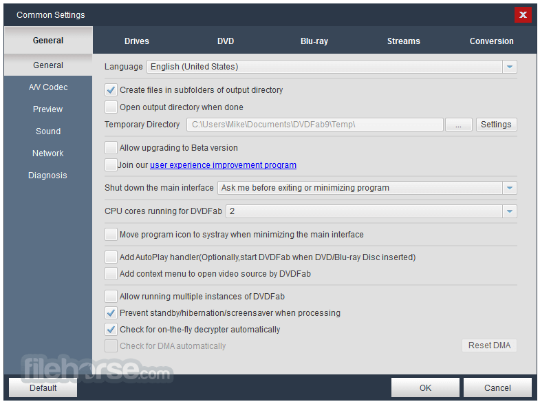 DVDFab 9.1.9.6 Screenshot 5