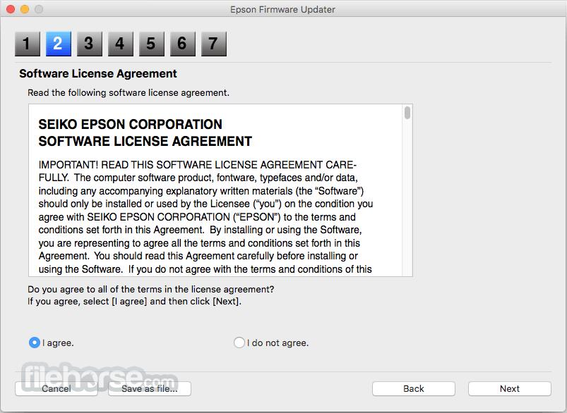 Epson Software Updater 2.3.3 Screenshot 3