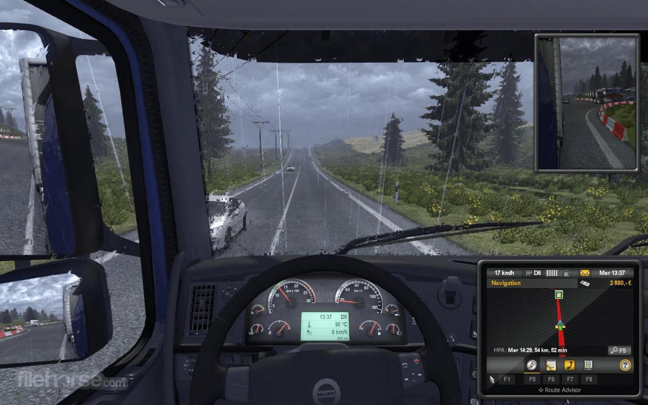 Euro Truck Simulator 2 Captura de Pantalla 2