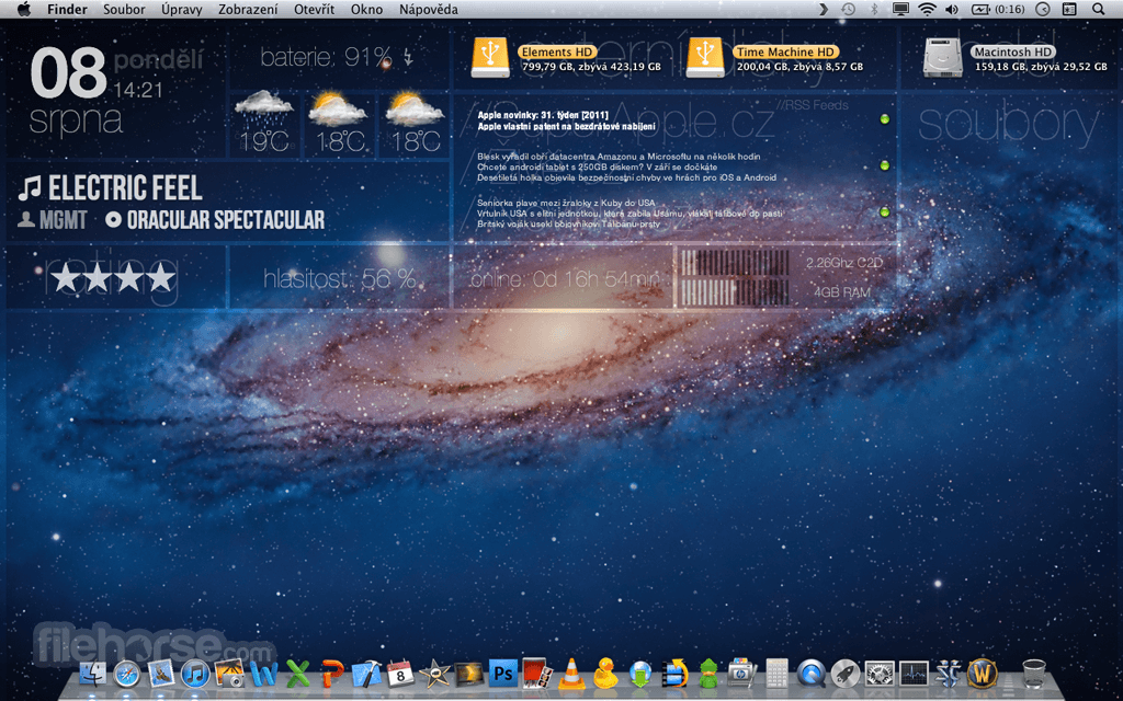 GeekTool 3.3.1 Captura de Pantalla 5