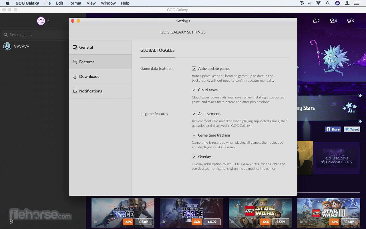 GOG Galaxy 2.0.17.68 Screenshot 2