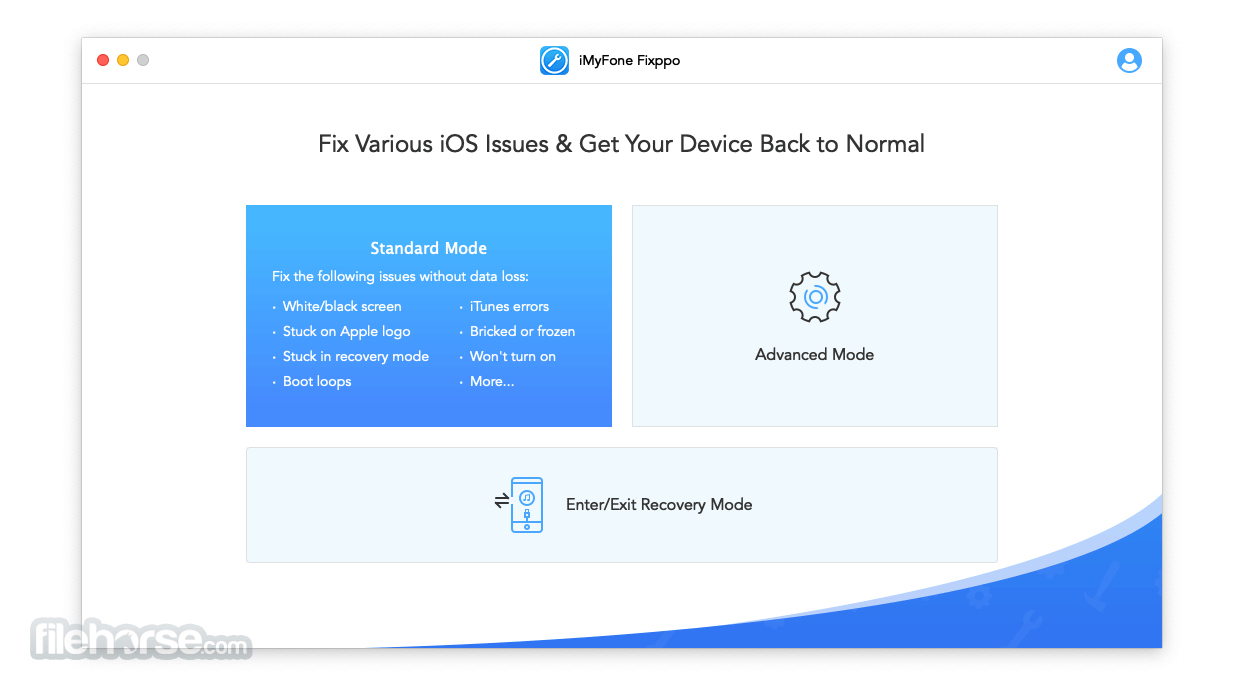iMyFone Fixppo 7.9.4 Screenshot 1