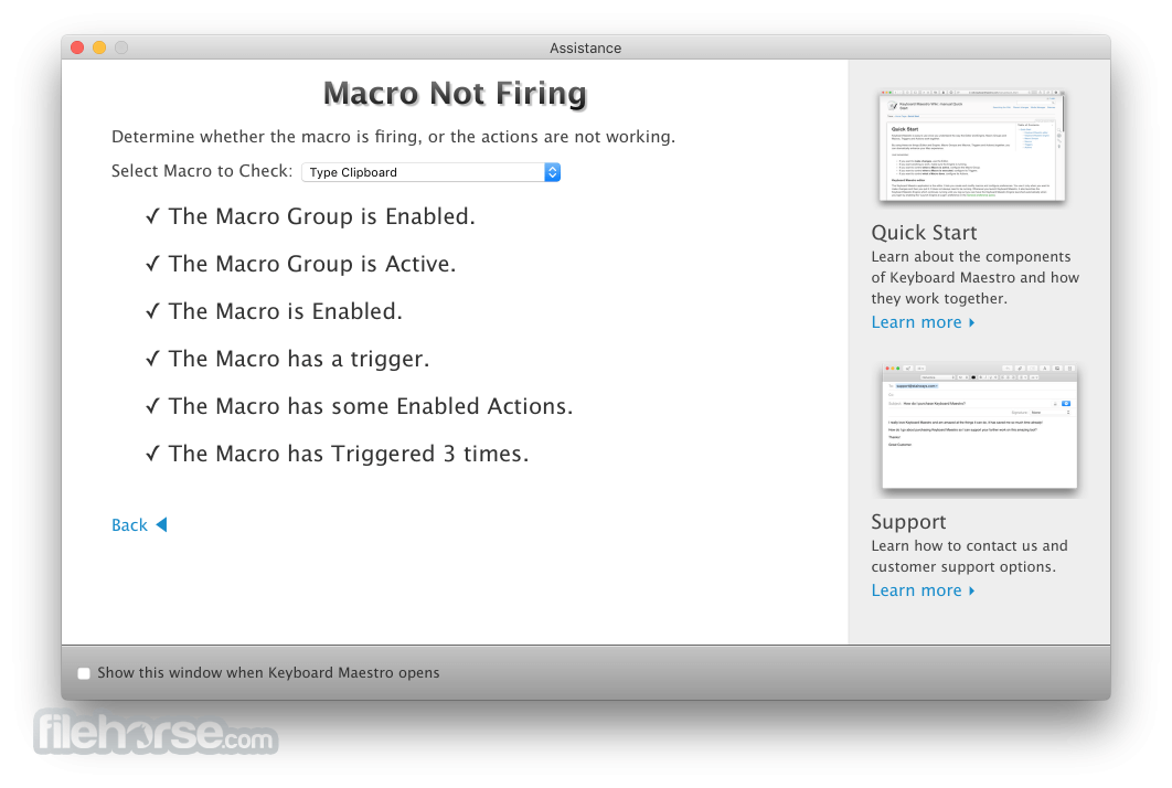 Keyboard Maestro 9.2 Screenshot 3