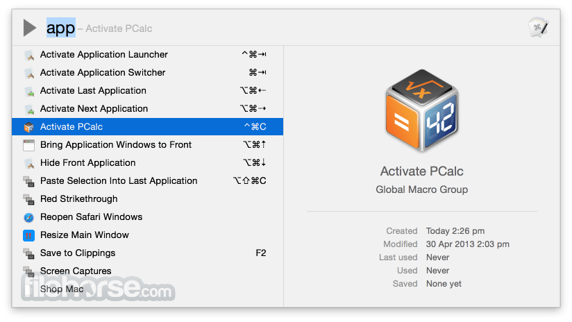 Keyboard Maestro 9.2 Screenshot 4