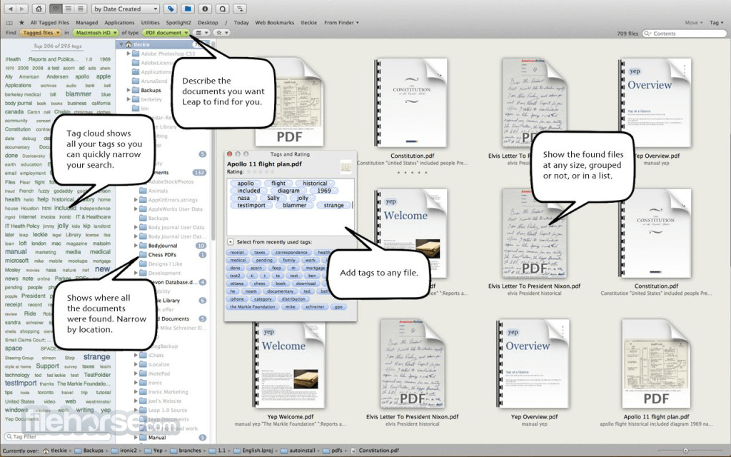 Leap 4.0.2 Screenshot 1