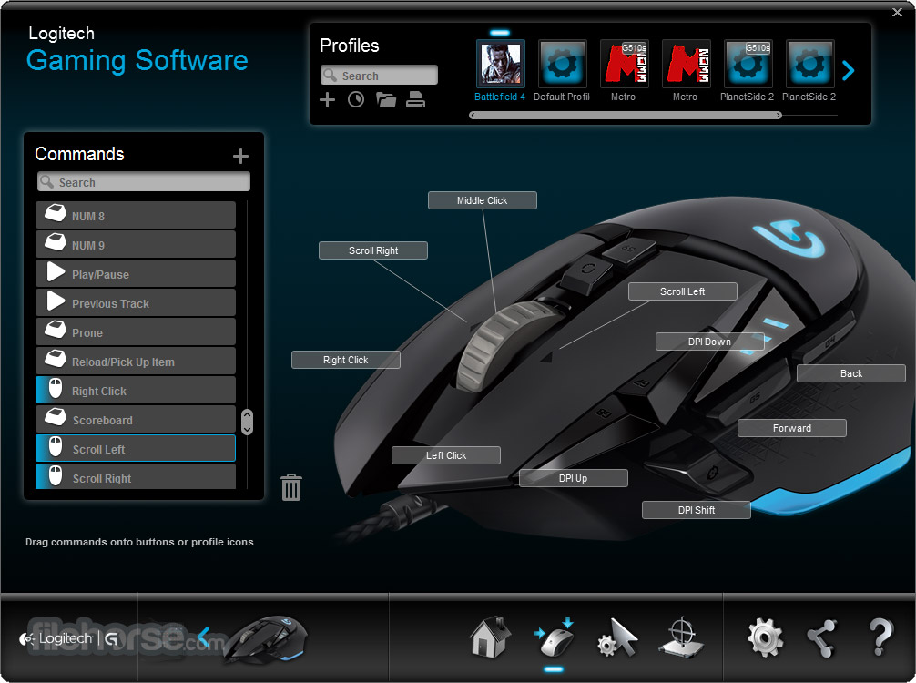 Logitech Gaming Software 8.92.37 Screenshot 3