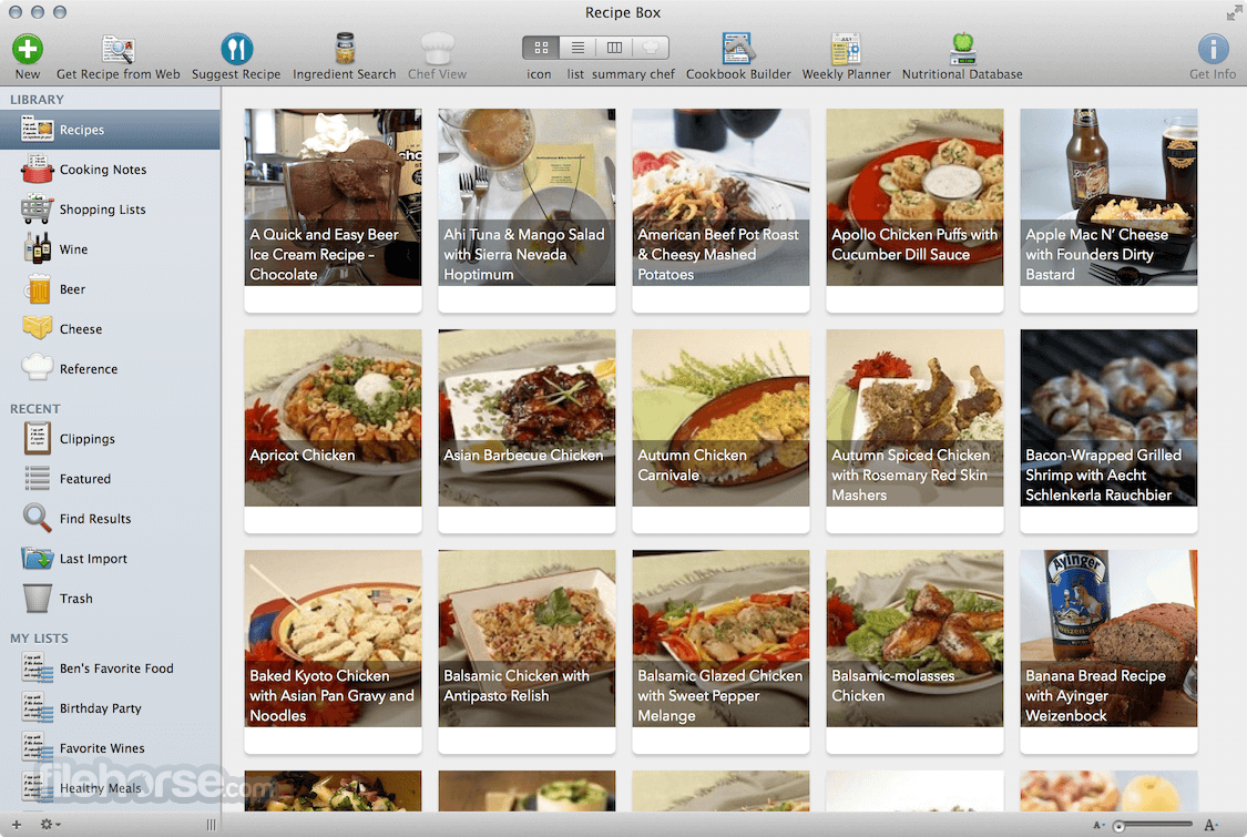 MacGourmet Deluxe 4.2.9 Screenshot 2