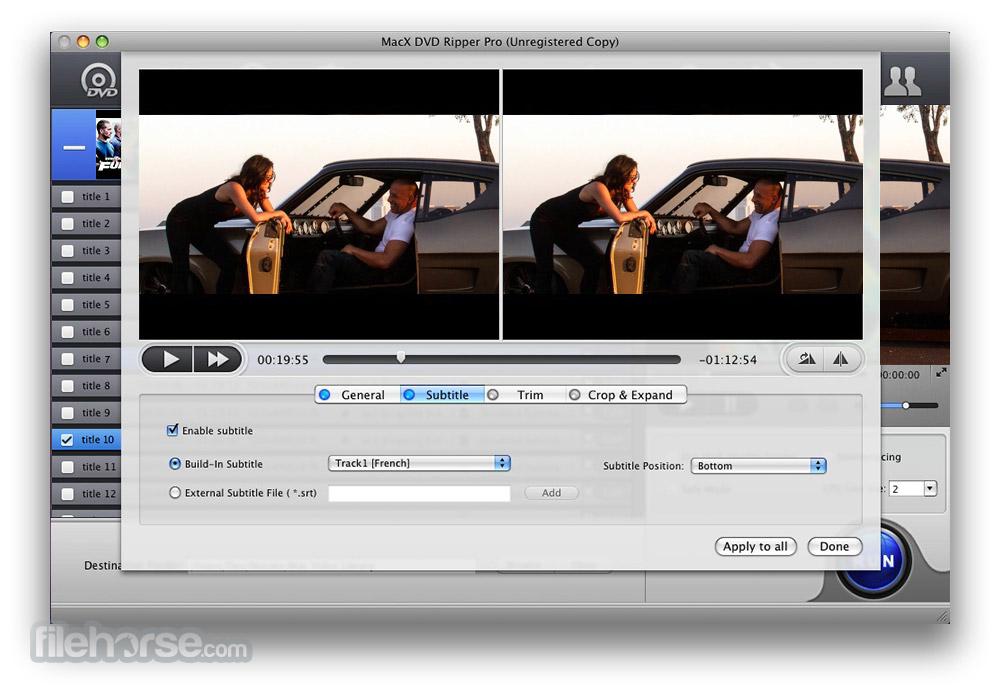 MacX DVD Ripper Pro 6.0.0 Screenshot 3