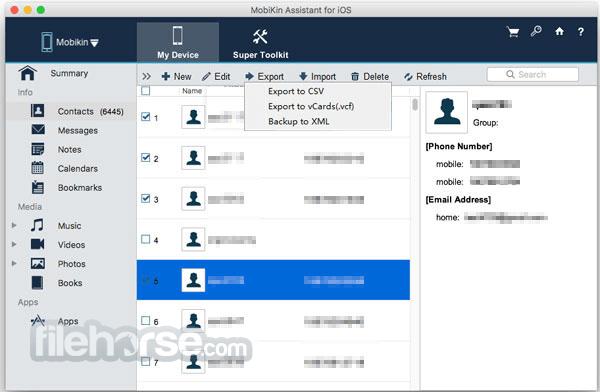 MobiKin Assistant for iOS 2.2.81 Screenshot 2
