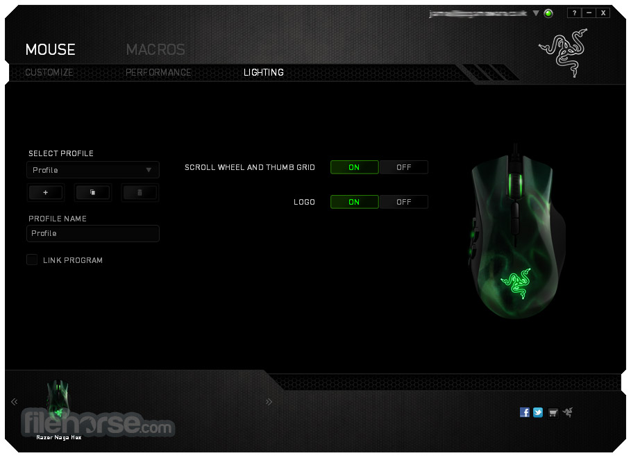 Razer Synapse 1.36 Screenshot 1