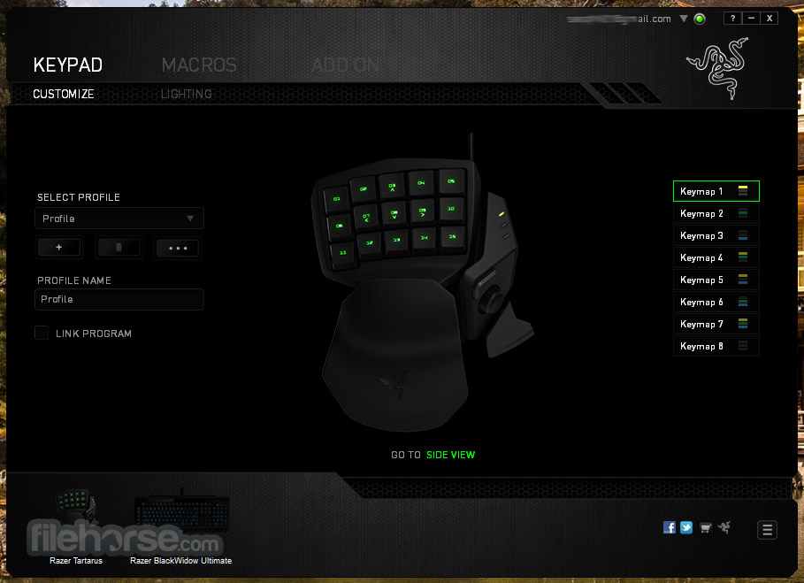 Razer Synapse 1.36 Screenshot 2